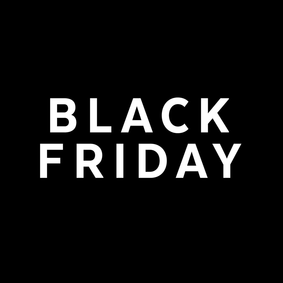 Black Friday…